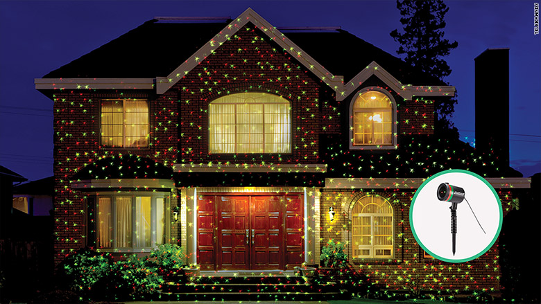 Laser christmas lights are this year 39 s frenzy dec 11 2015 for Decoration maison walmart