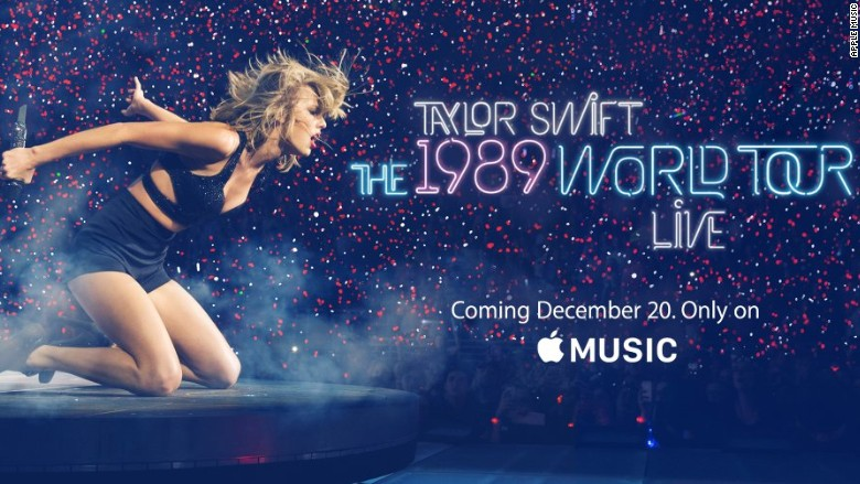 Taylor swift s 1989 world tour film coming to apple music dec 13