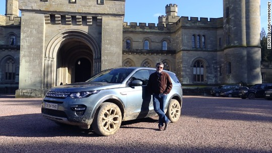 I off-roaded at an English castle and survived to tell the tale