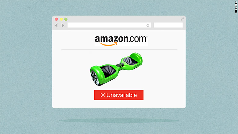 amazon hoverboard unavailable