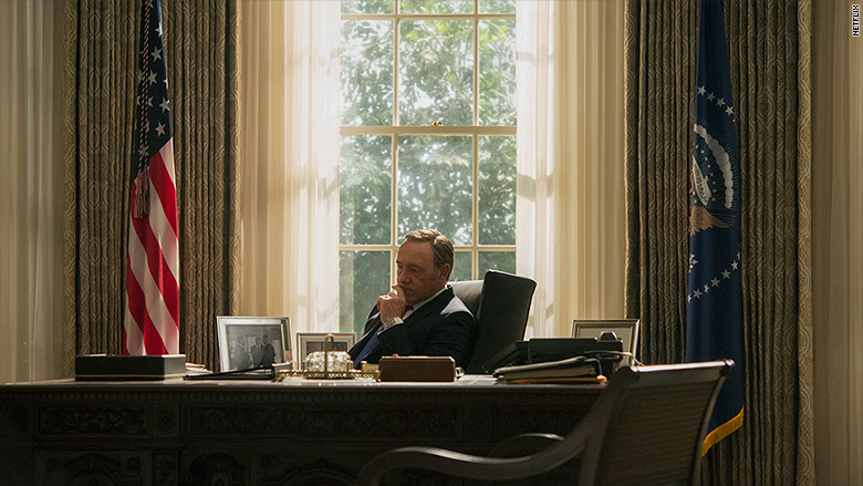 house of cards president underwood