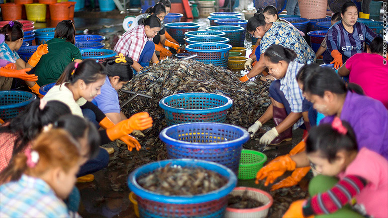 Whole Foods Denies Its Shrimp Is Prepared By Slave Labor