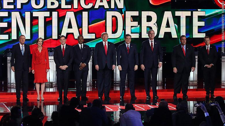gop debate candidates tier 1 1
