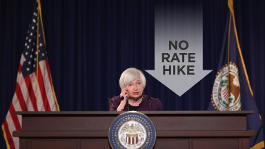 No Fed rate hike, but one may come in December