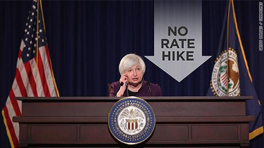 No rate hike: U.S. worries keep Fed on hold