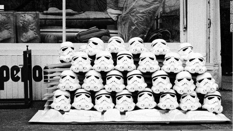 Star Wars helmets Ainsworth