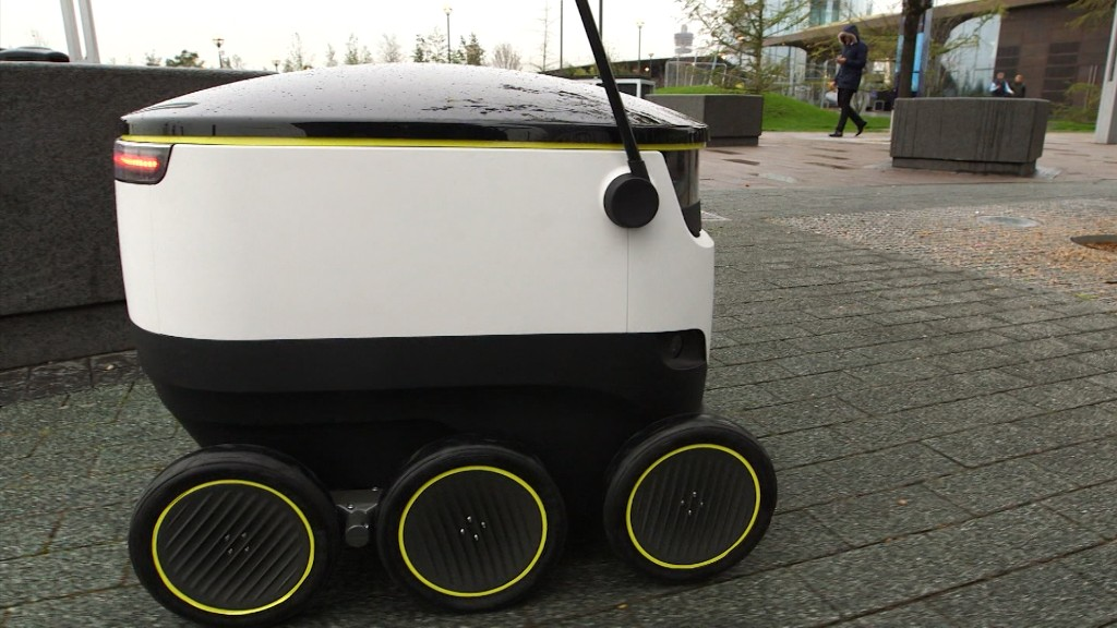 This robot will deliver your groceries