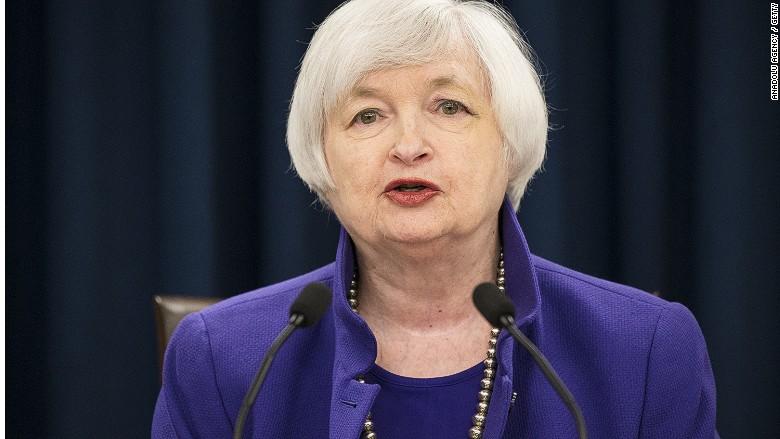 Yellen: Warning signs ahead for U.S. economy