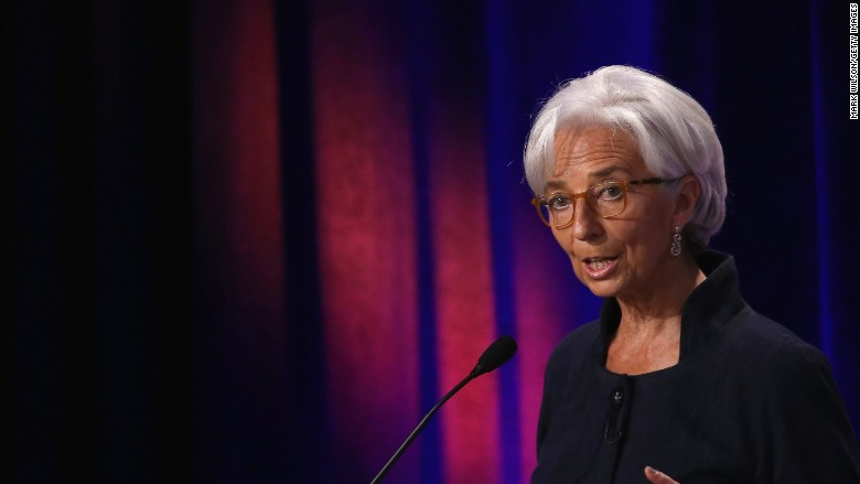 christine lagarde imf international monetary fund