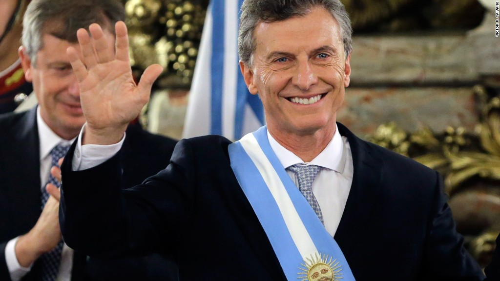Argentinian President: Trump is 'unique'