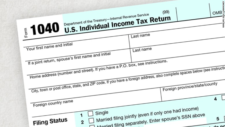 IRS tax filing season starts January 19 - Dec. 21, 2015