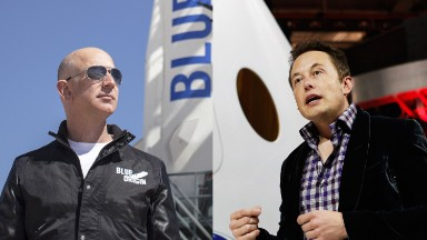 When Elon Musk and Jeff Bezos left everyone in their dust