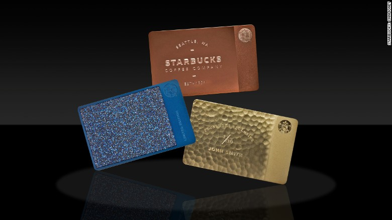 starbucks delux cards