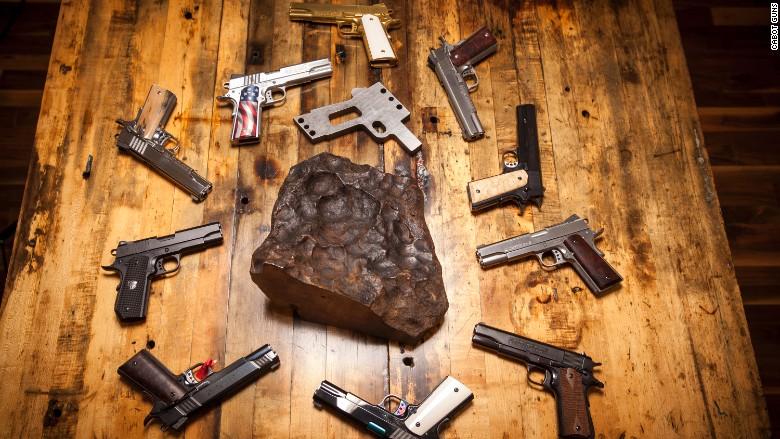 cabot guns meteorite