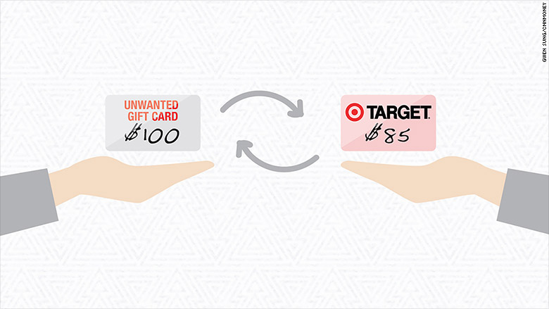 Target wants your unwanted gift cards - Dec. 28, 2015