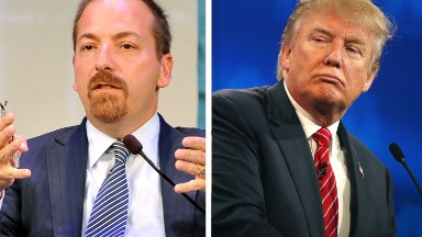 How Chuck Todd responded to Trump's vulgar insult