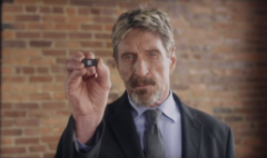 John McAfee has pushed this stock up 700%!