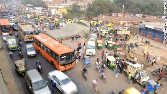 Delhi to revive car restrictions in effort to clean air