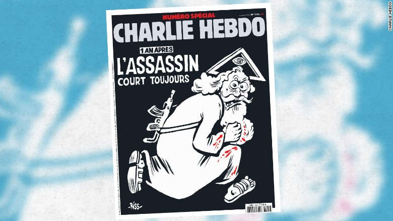 charlie hebdo assasin jan 2016