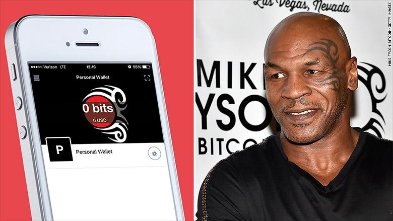 mike tyson bitcoin app split