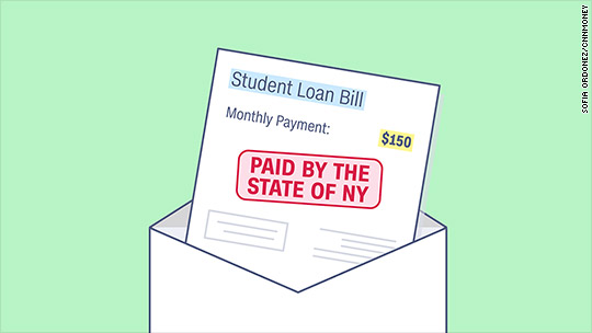 New York will pay your student loan bills for two years