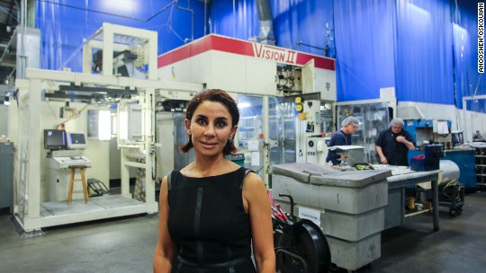 She left Iran at 14 and now runs a multimillion-dollar firm
