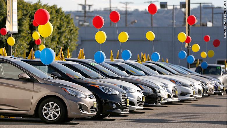 us car sales set record jan 5 2016