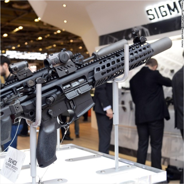 Smith & Wesson gun sales are up 22%