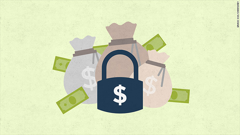 financial security lock