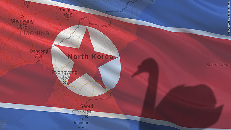 north korea black swan