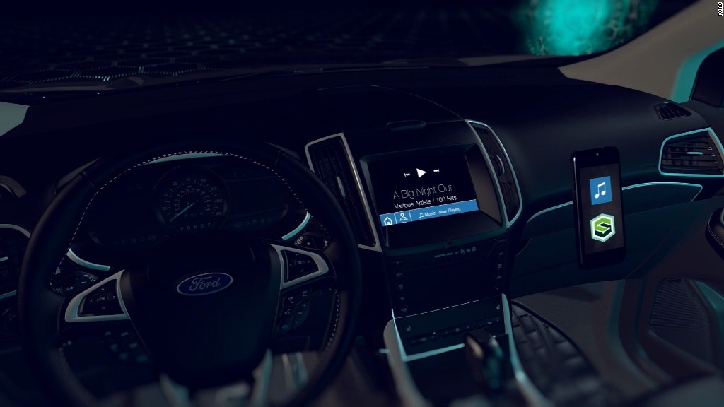 Ford is focusing on connected cars