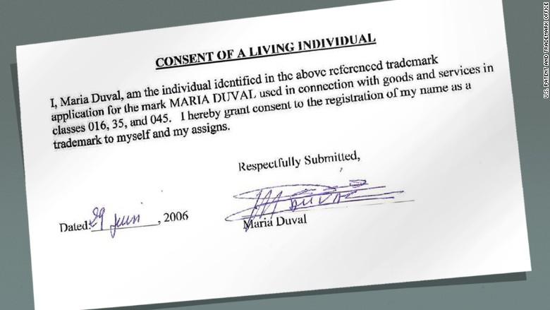 maria duval 2 real signature