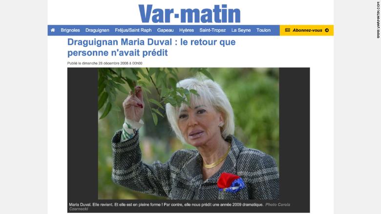 maria duval 2 come back
