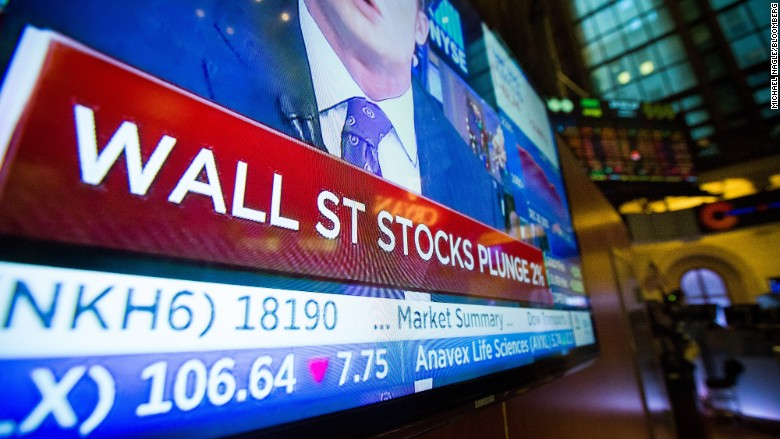 stocks plunge premarkets