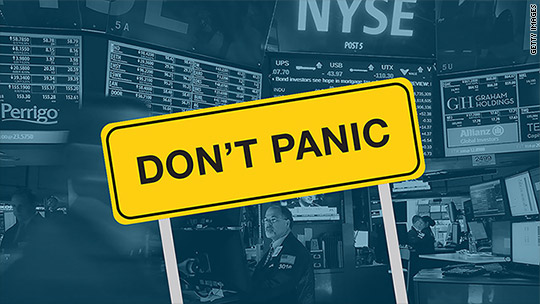 Why investors should NOT panic