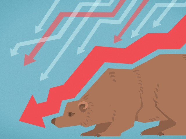 Nearly half of U.S. stocks are in a bear market
