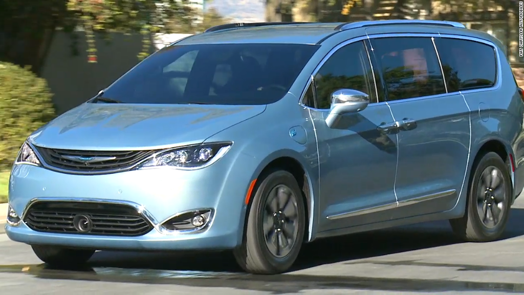 Chrysler's new minivan has a built-in vacuum cleaner