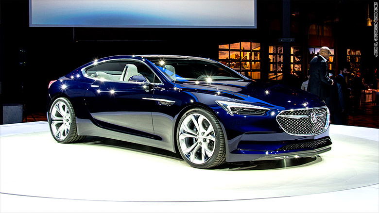 buick reveals sporty 400 hp concept car jan 10 2016. Black Bedroom Furniture Sets. Home Design Ideas
