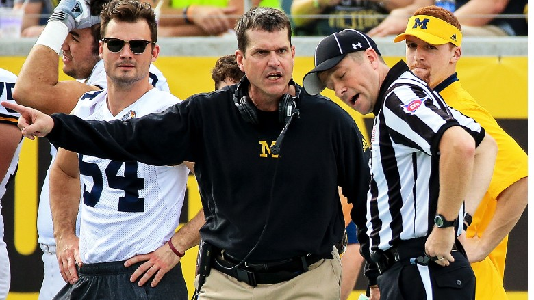 Jim Harbaugh University of Michigan