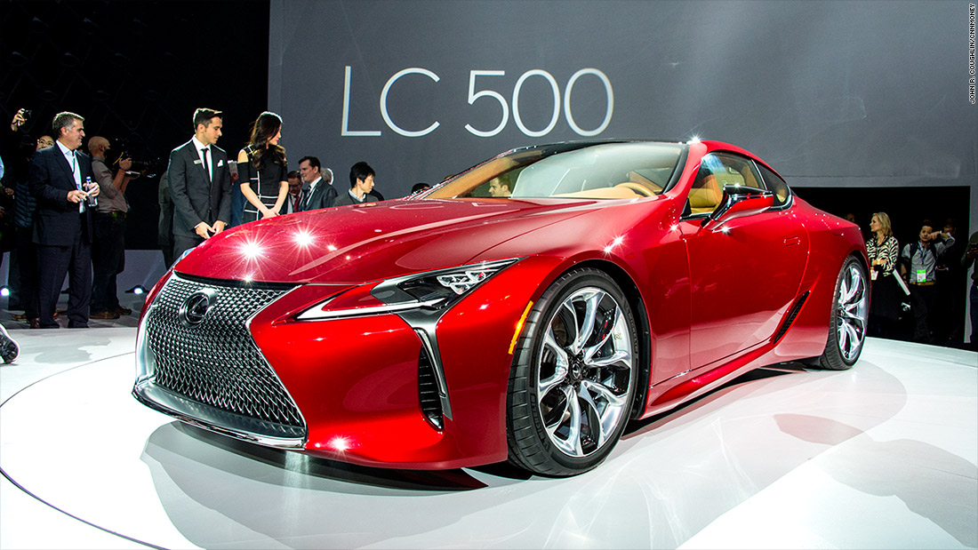 Lexus LC 500  Cool cars from the Detroit Auto Show  CNNMoney