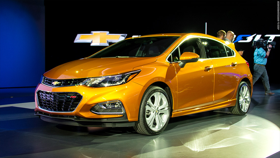 Perfect Chevrolet Cruze Hatchback  Cool Cars From The Detroit