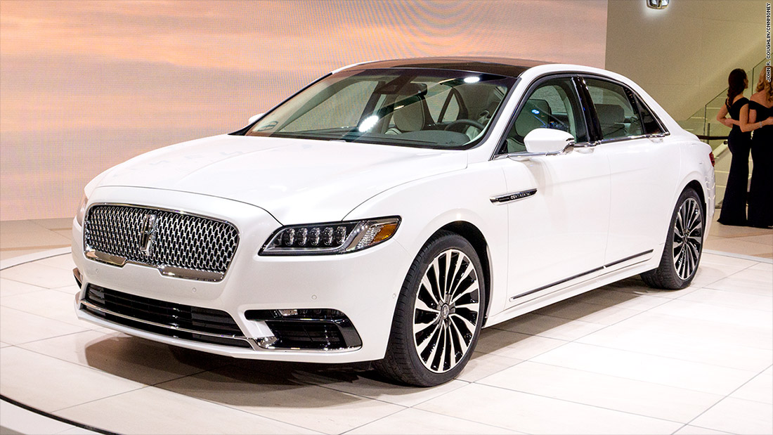 lincoln continental cool cars from the detroit auto show cnnmoney. Black Bedroom Furniture Sets. Home Design Ideas