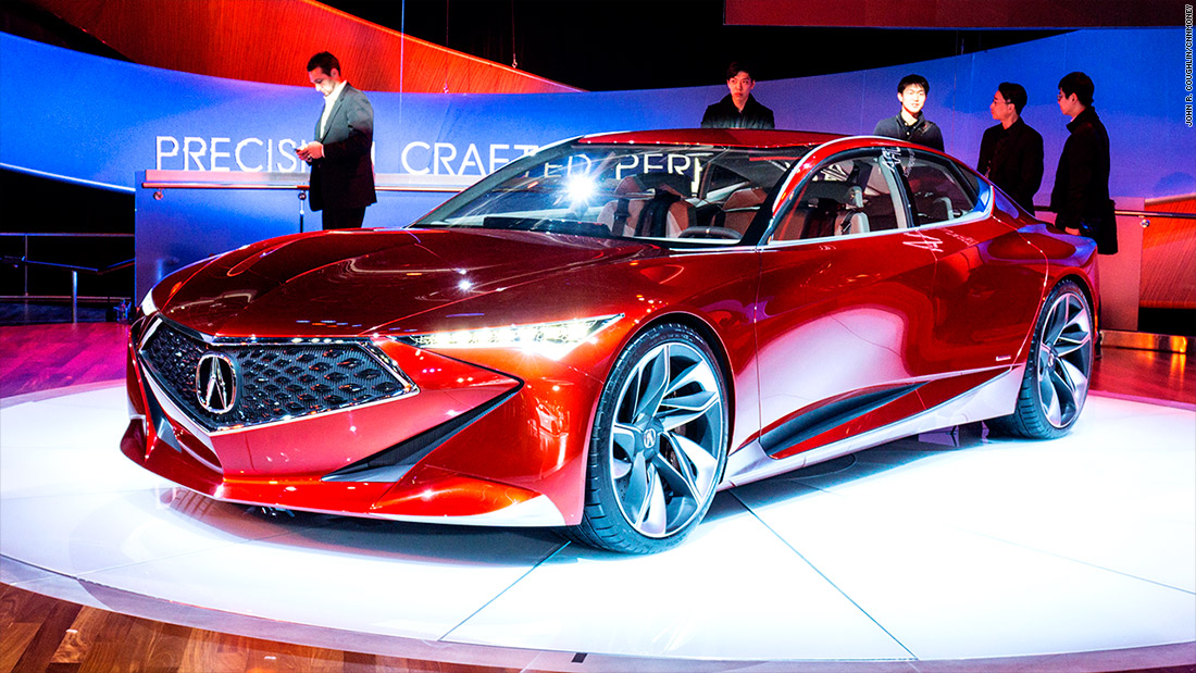 Worksheet. Acura Precision Concept  Cool cars from the Detroit Auto Show