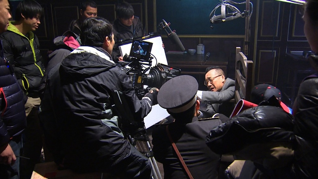 China's growing film industry