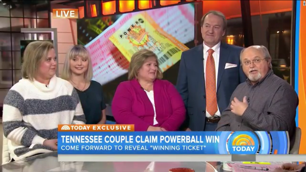 Tennessee couple claims they won Powerball jackpot