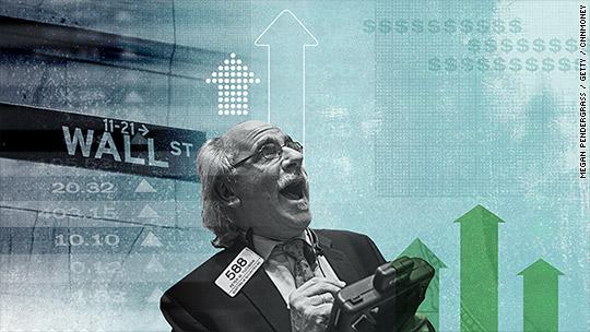 Stocks post best winning streak in 25 years