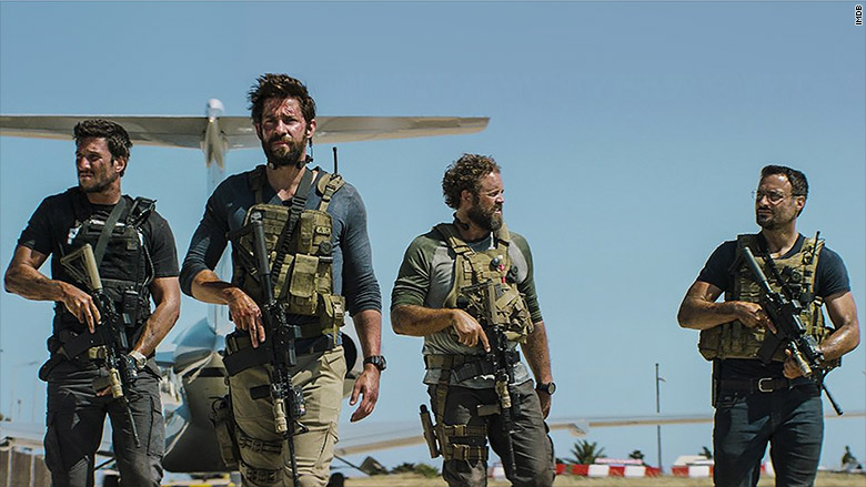 "13 Hours: The Secret Soldiers of Benghazi"" opens the same weekend as ..."