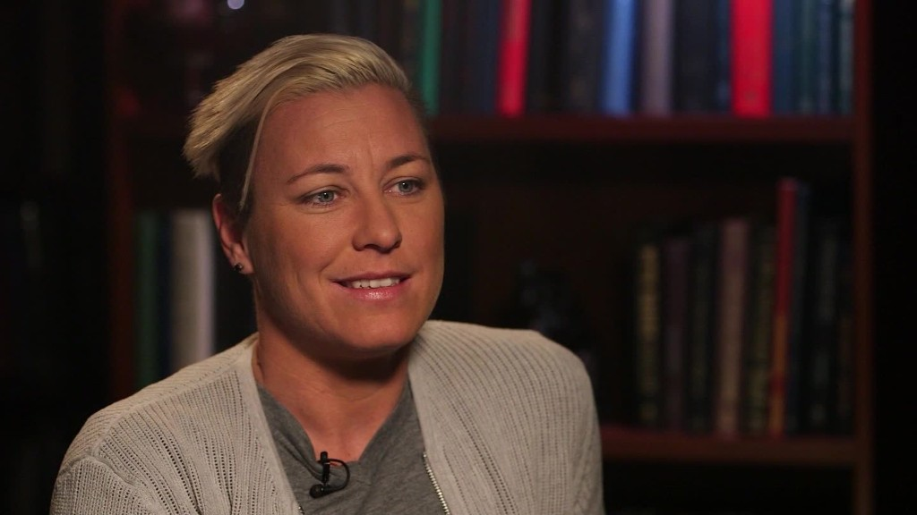 Soccer star on inequality: 'Enough is enough'