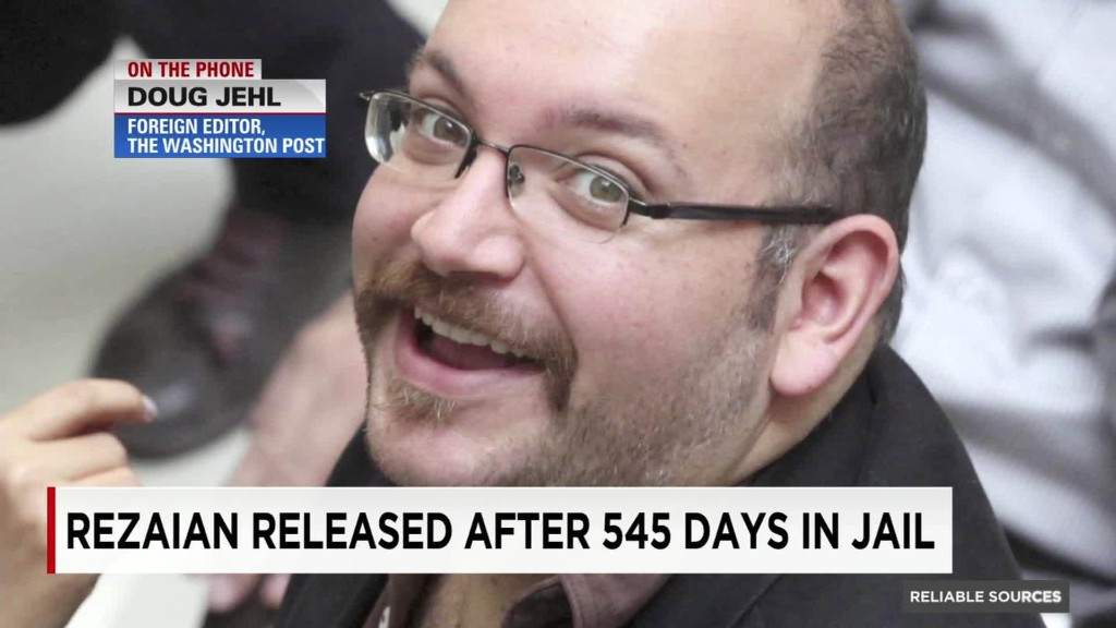 Washington Post editors react to Jason Rezaian's release