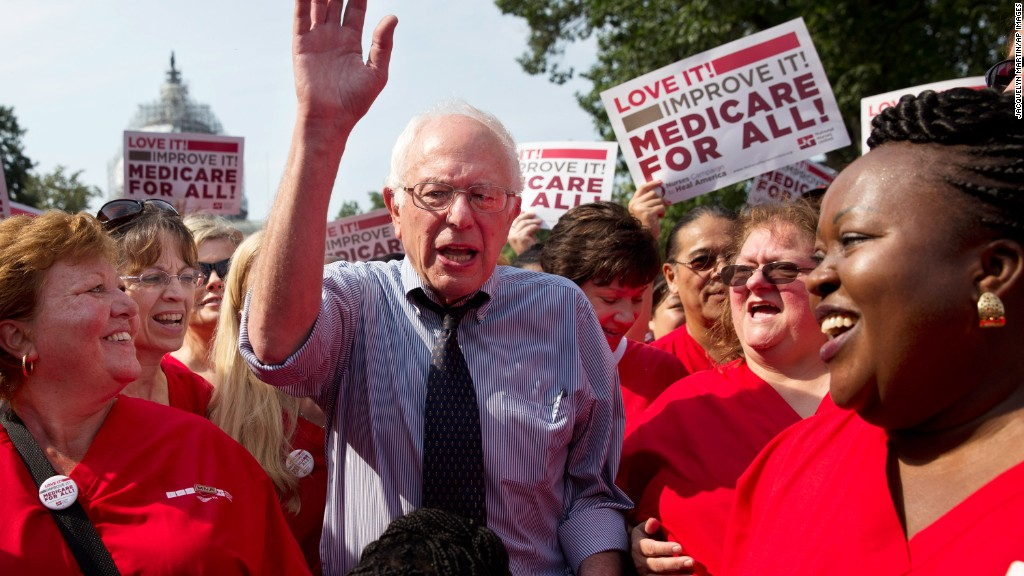 Sanders vows to introduce 'Medicare for All'